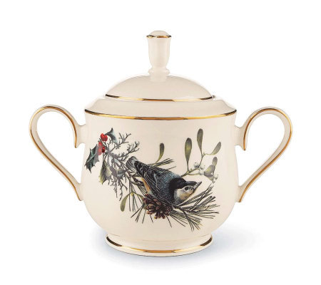 Lenox Winter Greetings Sugar Bowl