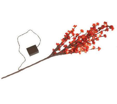 bethlehem lights battery operated 38 prelit blossom branch page 1. Black Bedroom Furniture Sets. Home Design Ideas