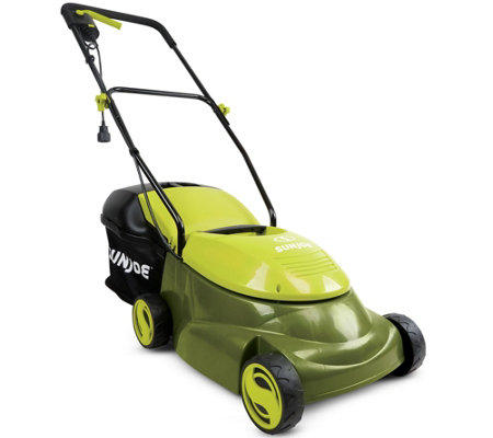 "Sun Joe 14"" Electric Lawn Mower with Grass Catcher"
