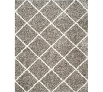 Safavieh 8'x10' Lattice Hudson Shag Area Rug - H209869