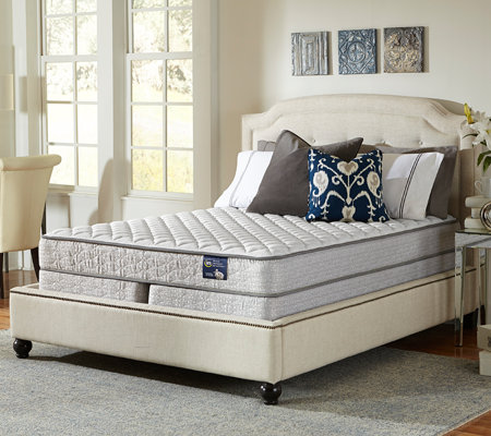 Serta Glisten Firm King Mattress Set