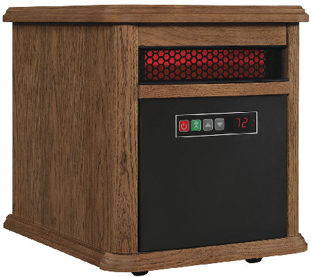 Duraflame PowerHeat Portable Infrared Heater with Remote