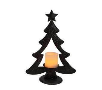 Candle Impressions Small Metal Christmas Tree - H287069