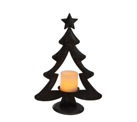 Candle Impressions Small Metal Christmas Tree