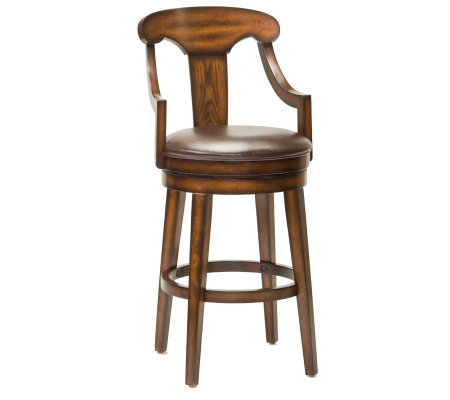 Hillsdale Furniture Upton Swivel Bar Stool