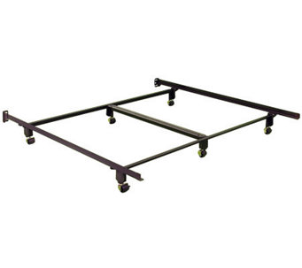 Instamatic CK Bed Frame w/ Rug Rollers, Locks &Center Support - H367669