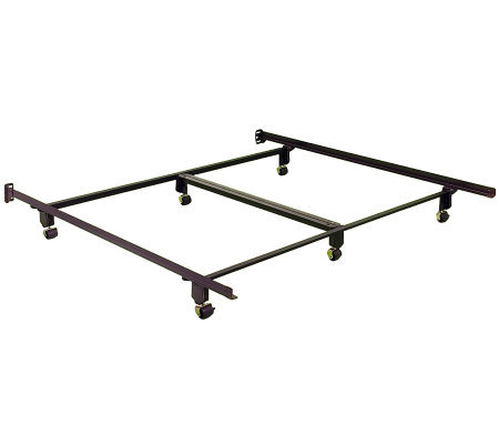 Instamatic CK Bed Frame w/ Rug Rollers, Locks &Center Support
