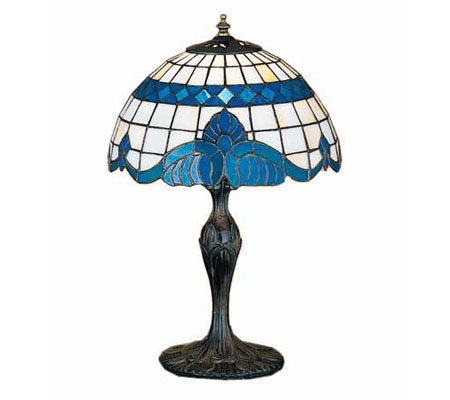 Tiffany Style Baroque Accent Lamp