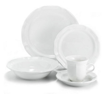 Mikasa Antiqued White 5-Piece Place Setting - H177170