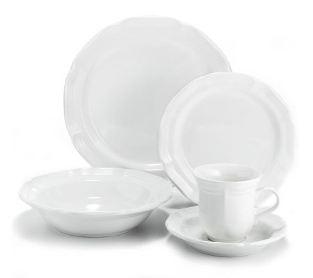 Mikasa Antiqued White 5-Piece Place Setting