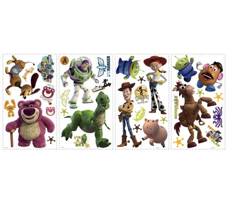 RoomMates Toy Story 3 Peel & Stick Wall Decals