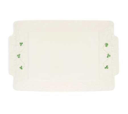 "Belleek ""Everyday"" Rectangular Tray"