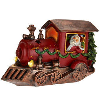Kringle Express Decorative Holiday Vehicle with Lit Accents - H208470