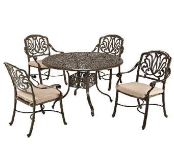 Home Styles Floral Blossom Taupe 5-pc Dining Set - H284370