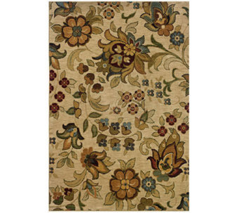 "Antique Garden Window 6'7"" x 9'6"" Rug by Oriental Weavers - H355470"