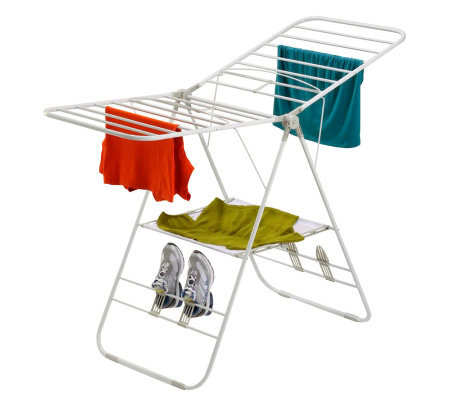 Honey-Can-Do Steel Gull Wing Clothes Dryer