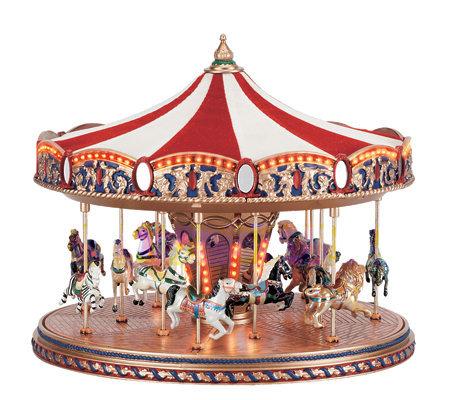 Mr christmas world 39 s fair carousel page 1 for Christmas classic art craft festival