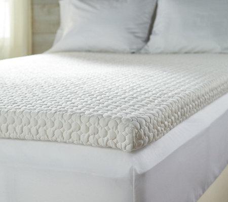 Tempur Pedic 3 Quot Adaptive Comfort Memory Foam Topper Qvc Com