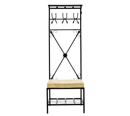 Martel Entryway Storage Rack / Bench Seat