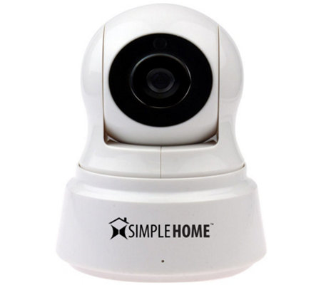 Simple Home Wi-Fi Pan & Tilt Security Camera