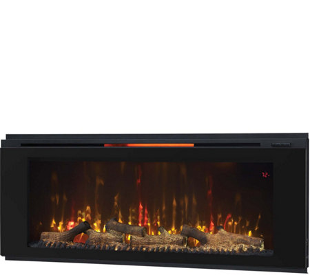 "ClassicFlame Helen 48"" Wall-Mounted Electric Fireplace"