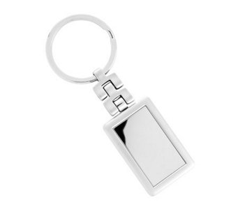 Silvertone Metal Key Ring - H348771
