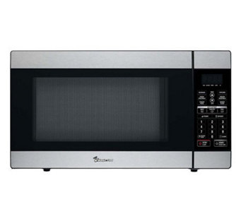 magic chef 18 cubic ft watt stainless microwave h358971