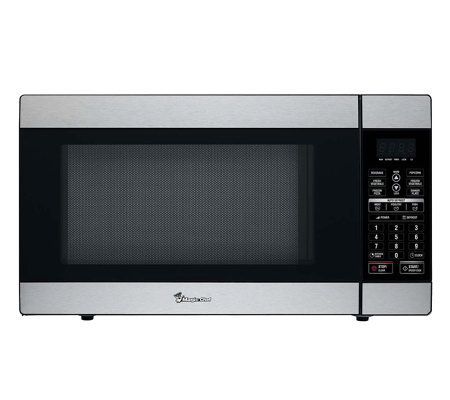 Magic Chef 1.8 Cubic Ft 1,100 Watt Stainless Microwave