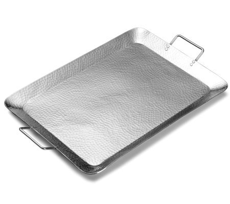 "Hammersmith 21.5"" Rectangular Tray with Handlesby Towle"