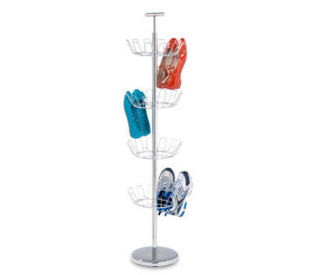 Honey-Can-Do 4-Tier Chrome Shoe Tree - H184072