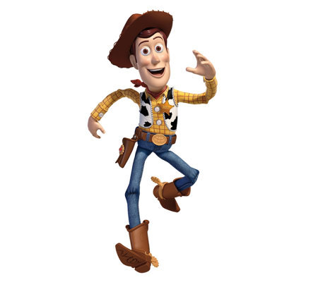 RoomMates Toy Story Woody Peel & Stick Giant Wall Decals