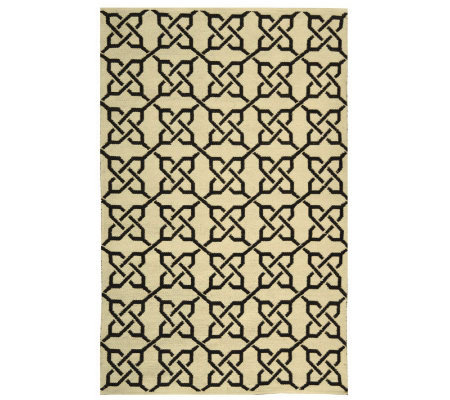 Thom Filicia 4' x 6' Tioga Recycled Plastic Outdoor Rug