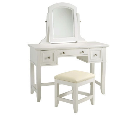 Home Styles Naples Vanity Table & Bench