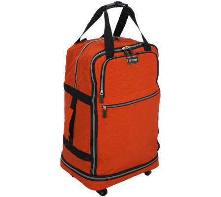 """As Is"" Biaggi Zip Sak 27"" Foldable Luggage by Lori Greiner"