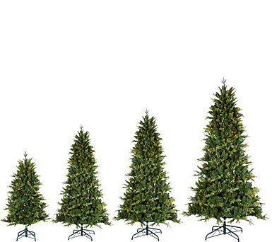 Bethlehem Lights Prelit Noble Spruce Tree with Multi-Functions - H209272