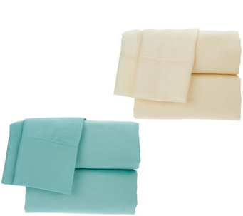 Home Reflections Set of 2 500TC Easy Care Sheet Sets - H210172