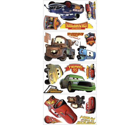 RoomMates Cars - Piston Cup Champs Peel & StickWall Decal