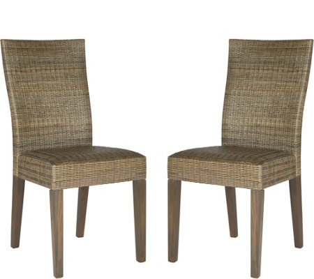 Fausta Set of 2 Side Chairs by Valerie
