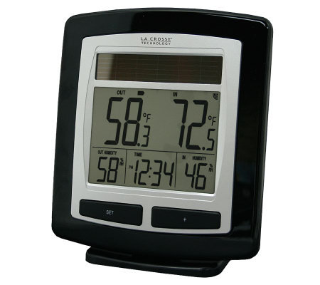 La Crosse Technology WS-6010 Wireless Solar Temp Station