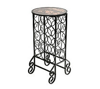 Lane Glass Top Wine Storage Table - H156073