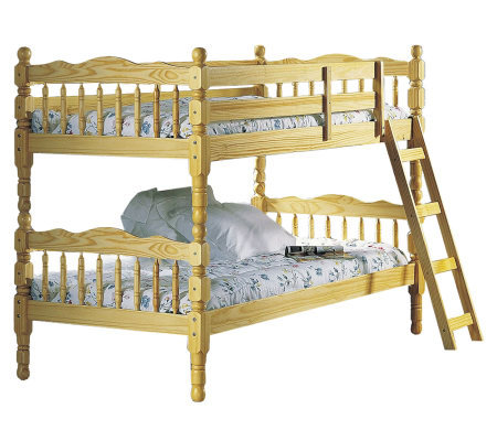 Ventura Twin/Twin Bunk Bed w/ Ladder by Acme Furniture