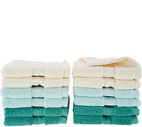 Northern Nights 600gsm 100% Cotton Set of 12 Wash Cloths - H205073