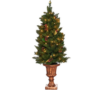 Bethlehem Lights 4' Indoor/Outdoor Lit Canterbury Urn Tree - H209573
