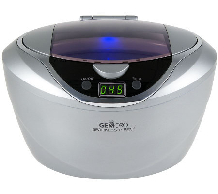 GemOro Prestige Series Ultrasonic Jewelry Cleaner, Slate