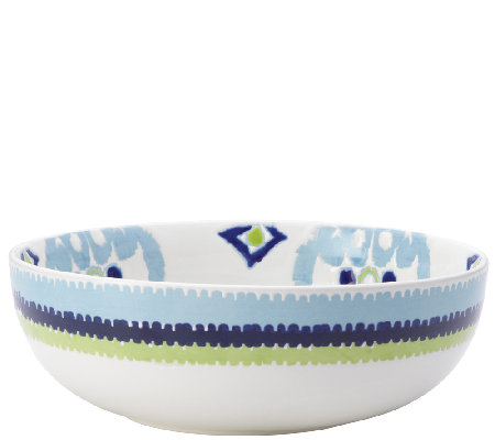 "Rachael Ray Dinnerware Ikat 10"" Stoneware Serving Bowl"