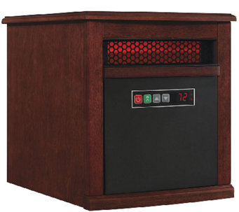 Duraflame PowerHeat Portable Infrared Zone Heater with Remote - H286973