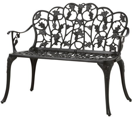 Plow & Hearth Grapevine Garden Bench