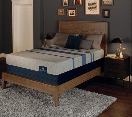 serta icomfort blue max plush cal king mattress set