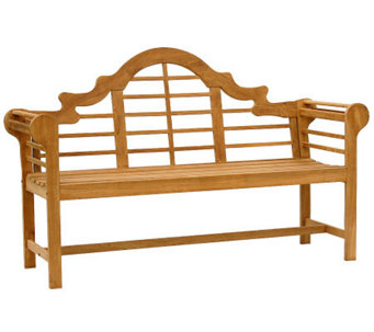 Elden 5' Outdoor Teak Lutyens Bench - H360973
