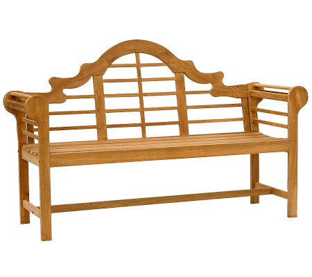 Elden 5' Outdoor Teak Lutyens Bench